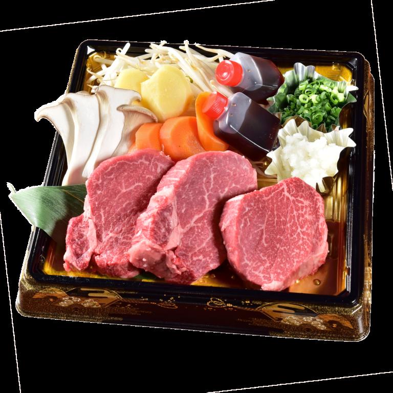 美食倶楽部一歩の特選和牛フィレ肉